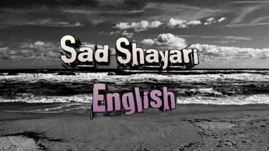 Sad Shayari English