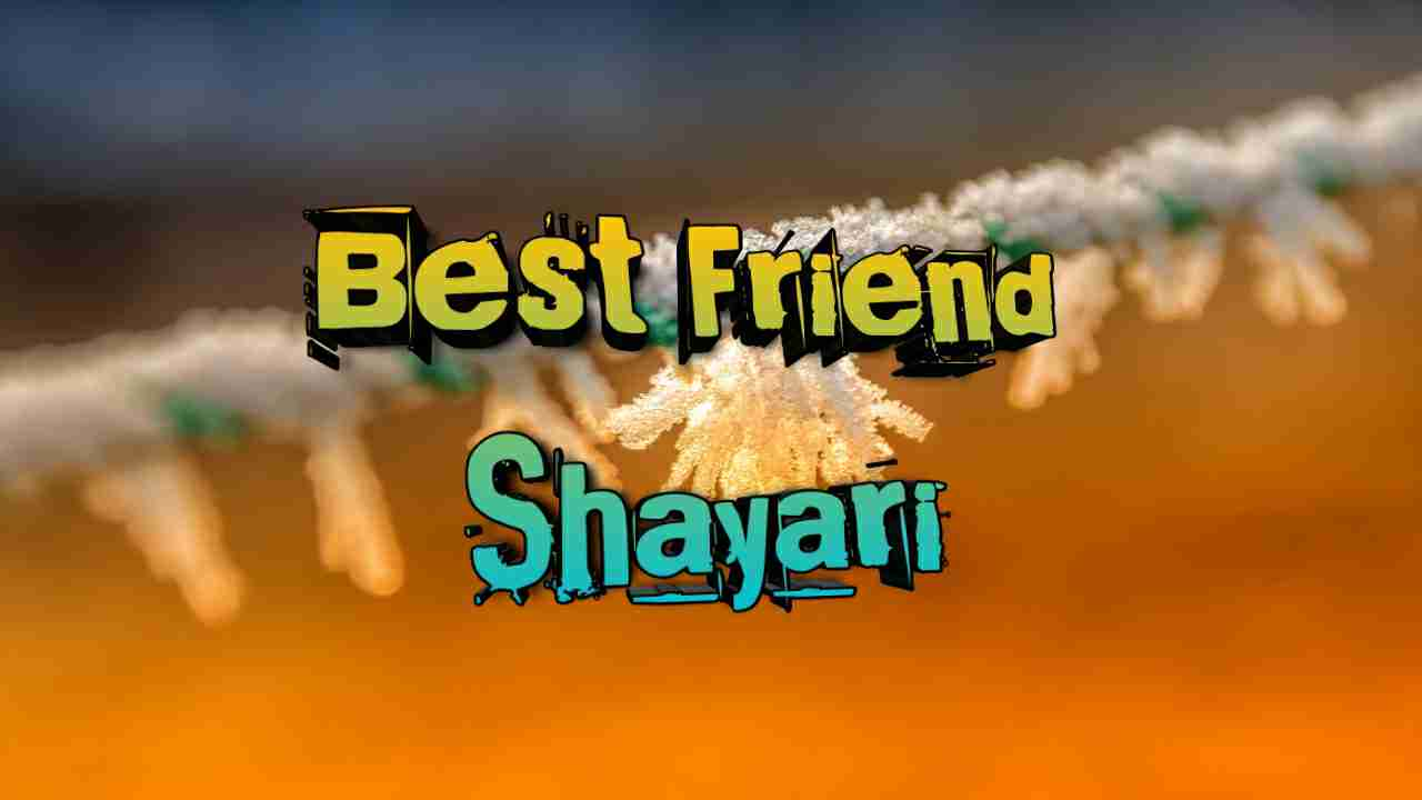 Photo of Best Friend Shayari