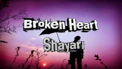 broken heart shayari