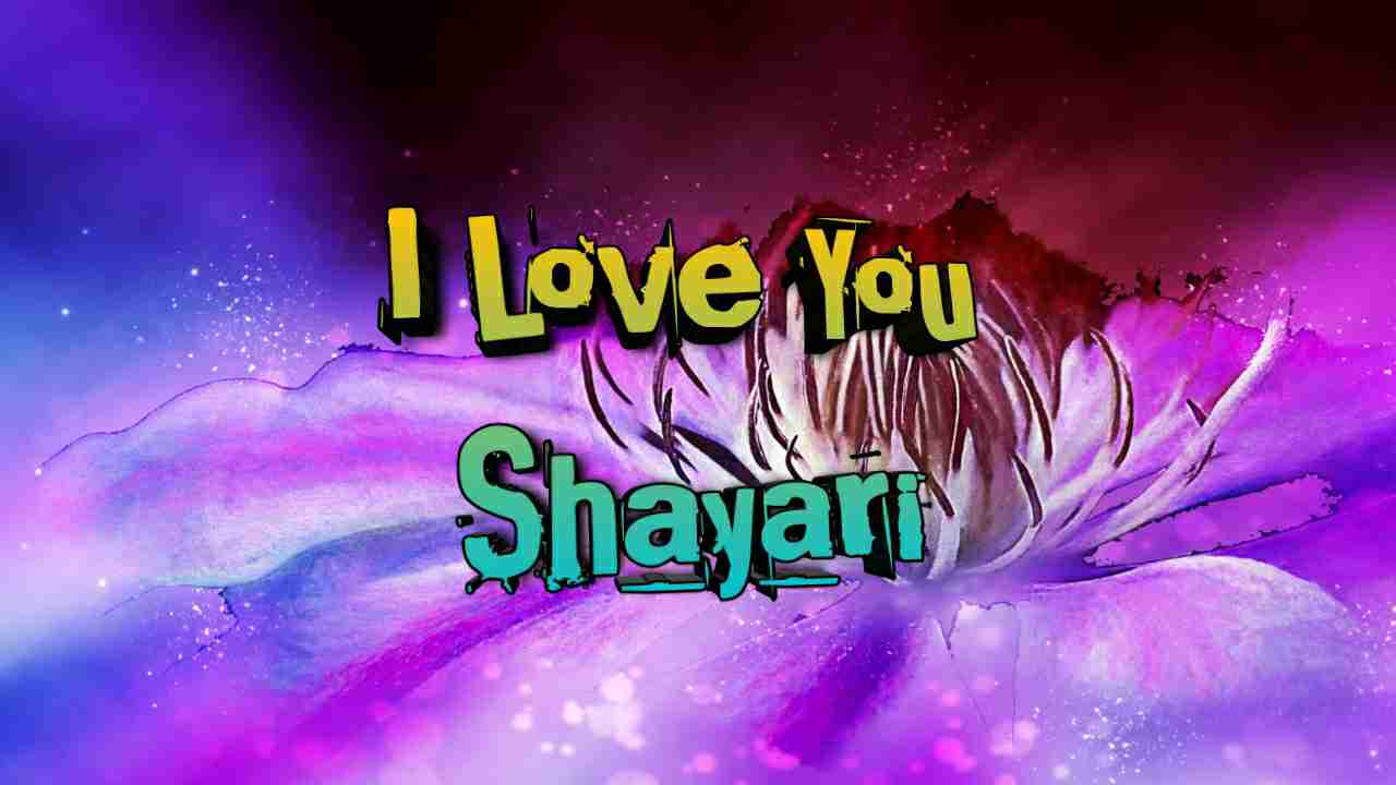 Photo of I love you shayari