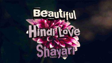 Photo of Beautiful Hindi Love shayari