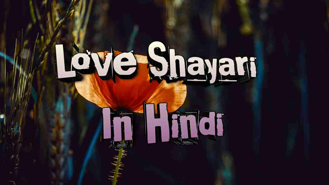 Photo of Love Shayari In Hindi